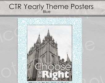 CTR Poster - 16x20 Blue Version