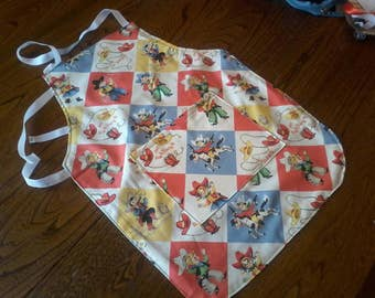 Apron for little cooks, child apron, made to order, custom apron imitations games