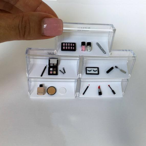 Dollhouse Miniature Foundation Bottle /& Powder Compact Set by Itsy Bitsy Mini