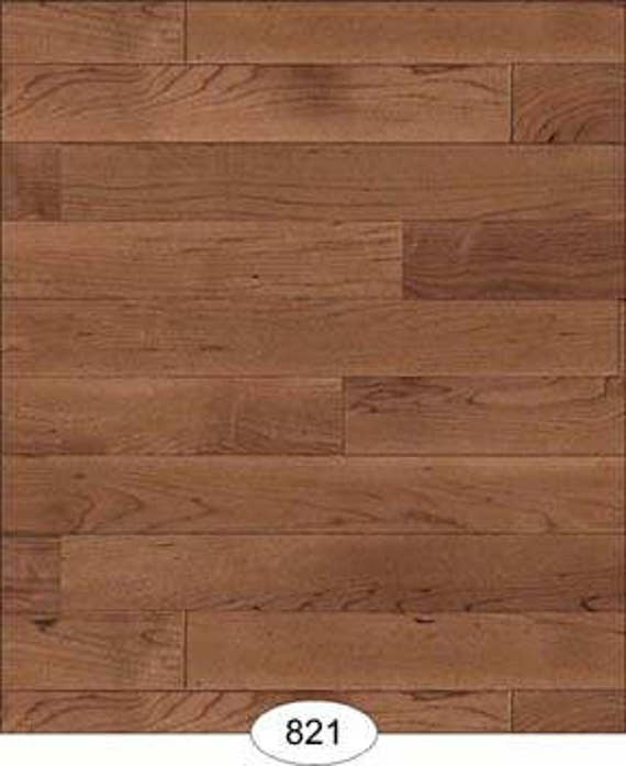 Dollhouse Flooring Wallpaper Multiple Finish Options One Inch Scale