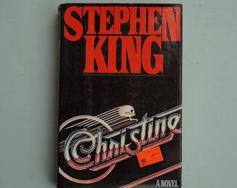 Christine by Stephen King - FIRST EDITION - Ready Player One