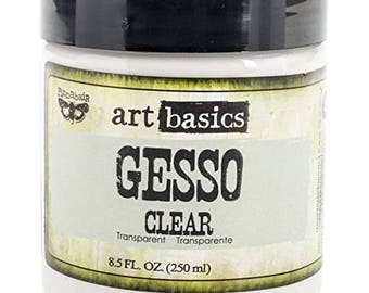 Clear Gesso Art Basics