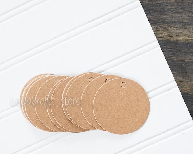 50 Circle Tags