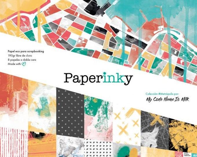Paperinky Metropolis - 12x12 paper pad