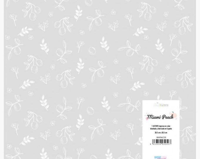 The Mint Feather - Acetate Lemons