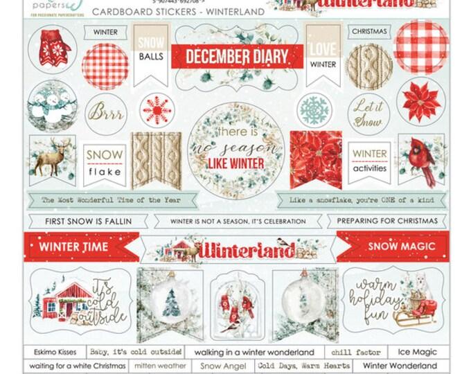 Mintay Wonderland - Chipboard Sticker