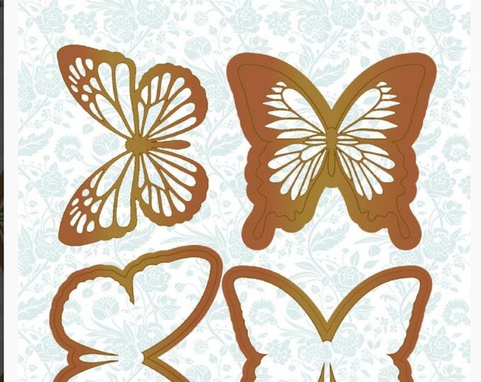 Alberto Juarez - Butterfly metal die
