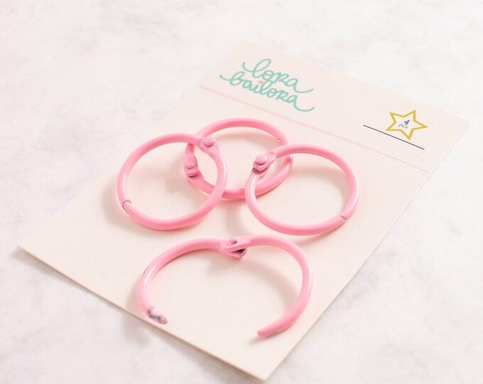 Album Ring Lora Bailora  - 30 mm Pink