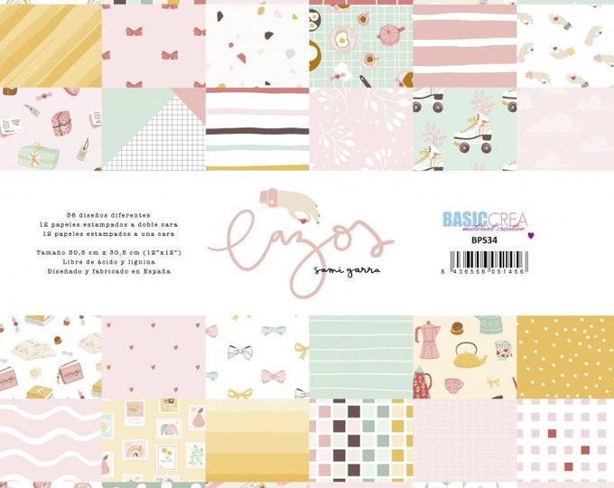 Sami Garra - Lazos 12x12 paper pad