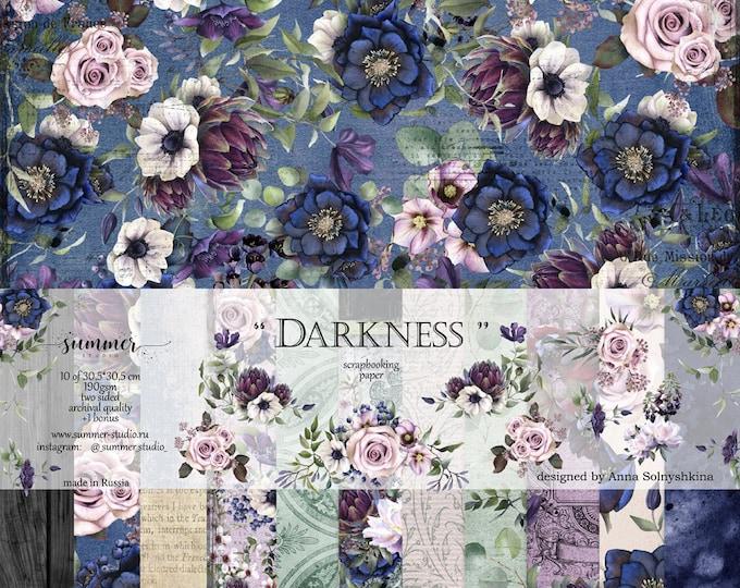 """Summer Studio - Darkness - 12x12"""""""