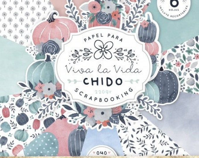 Fridita - Autumn Pumpkins Paper Pad
