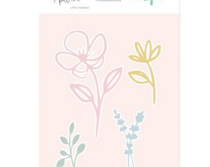 Mintopia Pétalos  Metal Die -  Flower Set