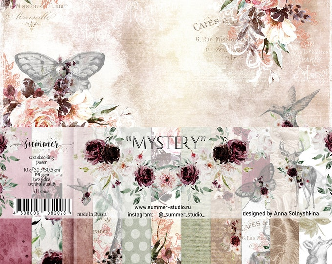 "Summer Studio - Mistery - 12x12"""