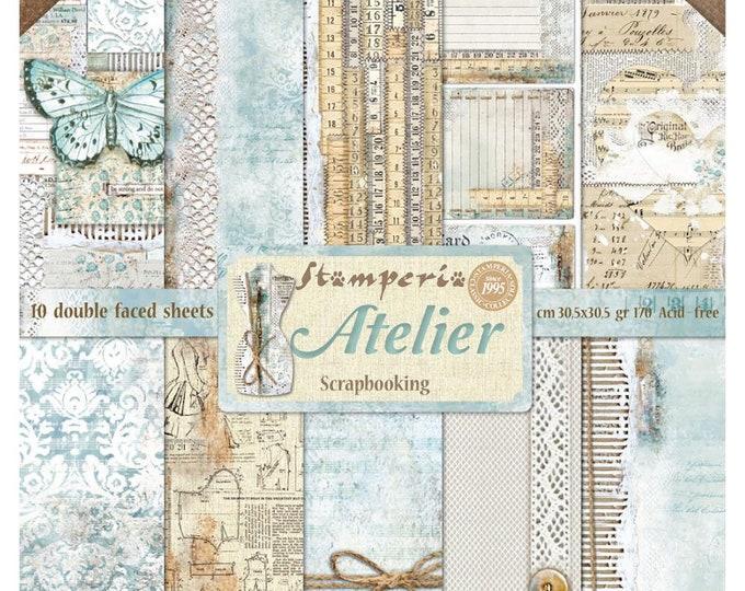 "Stamperia Atelier  12x12"""