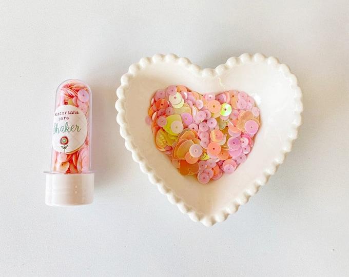 Juju Scrapbook Sequins  - Bubble Gum