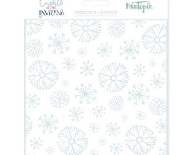 Mintopia Stencil - Copos de Nieve