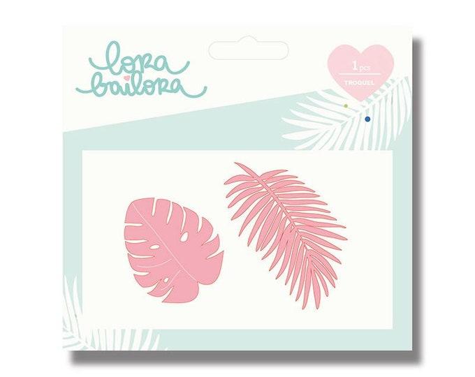 Lora Bailora Metal Die - Tropicales 1