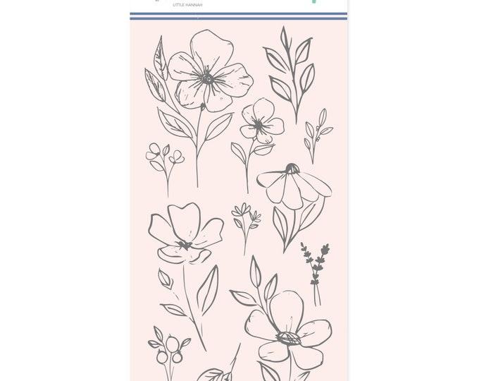 Mintopia Pétalos- Flores Grandes