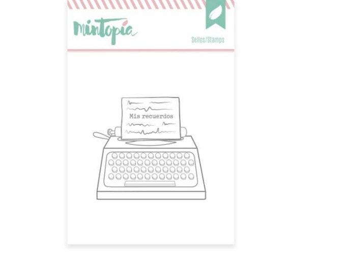 Mintopia Pétalos Stamp - Writting machine