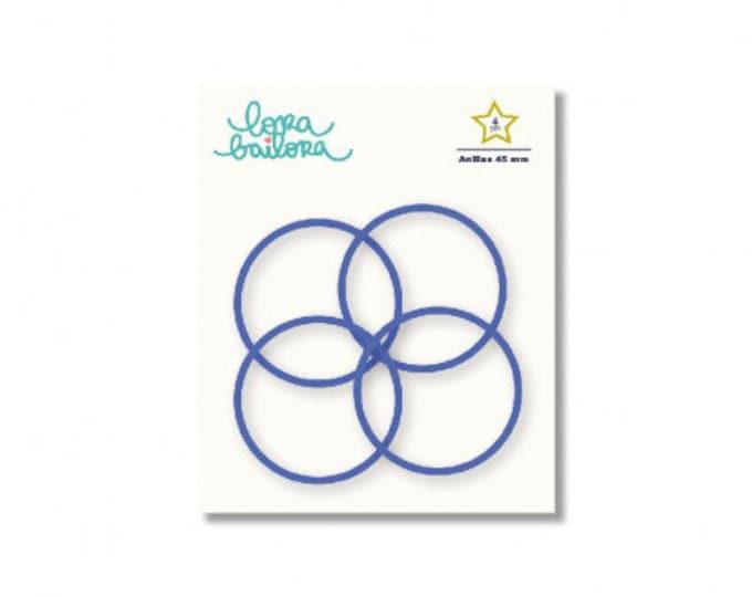 Album Ring  Lora Bailora - 45mm Indigo
