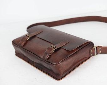 Leather messenger bag for men 9654be61bc061