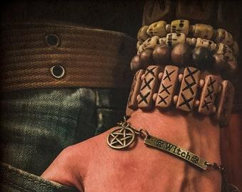 "Channeling Talisman - ""Six of Pentacles"" - Tarot Charm Bracelet"