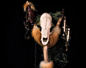 "Animism Dedication - ""Forest Spirit"" - Ritual Staff"