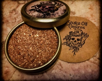 Snake Oil Conjures - B*tch, No - Spell Powders Tin