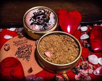 Snake Oil Conjures - Love Dust - Spell Powders Tin