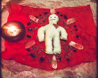 Love/Lust/Selfcare/Passion/Obedience - Made To Order Candle, Jar, & Doll Spells