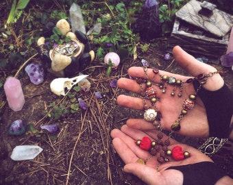 "Prayer Beads - ""Auspicious Chimes"" - Prosperity & Cleansing Meditation Amulet"