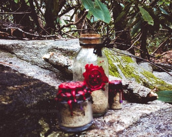 "Witch Bottle - ""B*tch, No."" Powder - Single Use Sealed Vial"