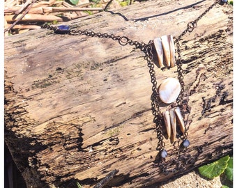 """Protective Amulet - """"Harbour Harvest"""" - Sea Witch Charm Necklace"""