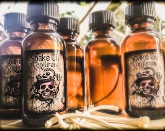 Snake Oil Conjures - Black Cat Oil - Spell Vial