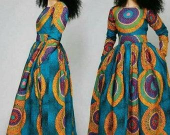 d100f830e5137 Bimpe African maxi dress, Ankara dress, African clothing, women clothing,  women dress, African dress, maxi dress