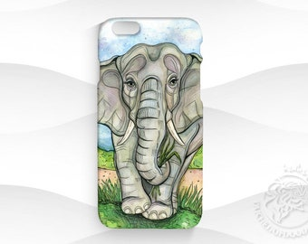 920b025a4 Cute Elephant Clear Phone Case Design for iPhone Cases, Samsung Cases and  Google Pixel Cases