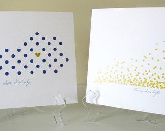 Kentucky Dots 8x10 print