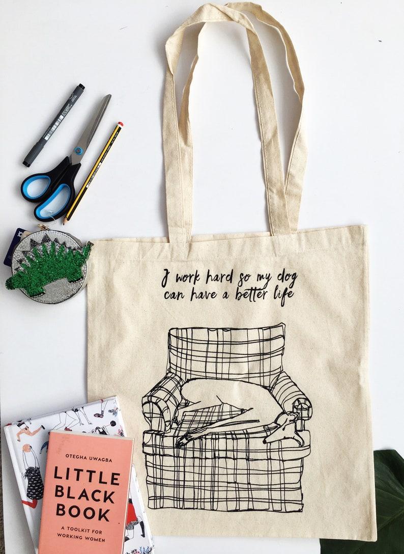 8d8df069e2714 Canvas tote bag, totes bag, cotton tote bag, dog bag, dog tote bag, dog  bag, dog print bag, dog lino bag, Dog shoulder bag, dog canvas bag,