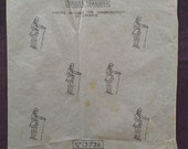 French 18th Century Fashion Gentleman Motifs - Briggs Transfer 13736 - Vintage 1950 39 s Embroidery Iron On Transfer Sheet