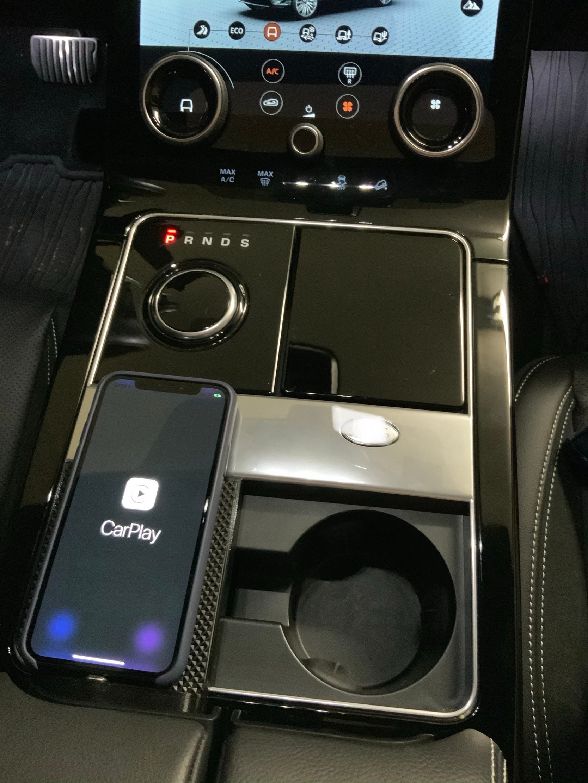 Phone dock apple iphone carplay or android auto velar