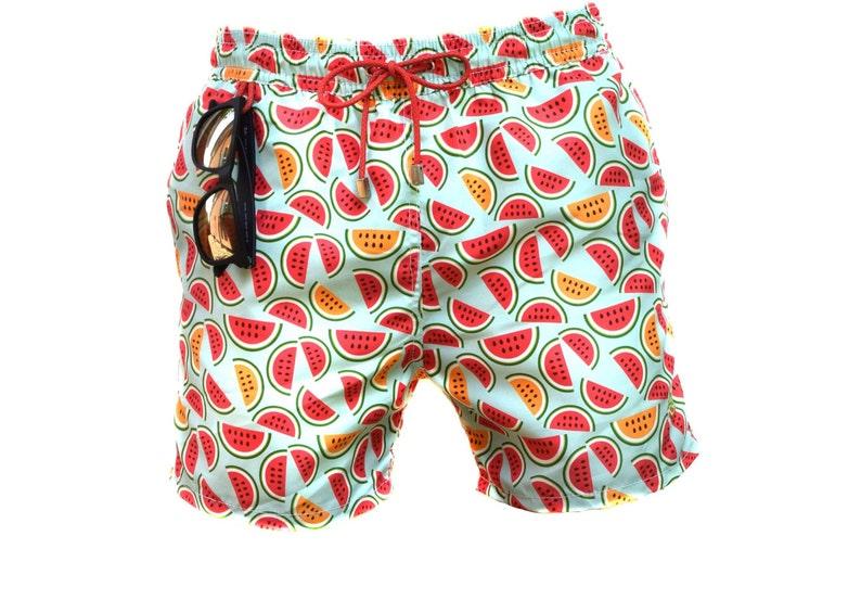 dc13d50b9904f Anguria Watermelons Swimtrunk Swimwear Men's | Etsy