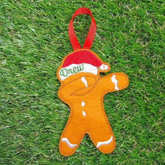 Unicorn Dab Dabbing  Handmade Christmas Tree Ornament