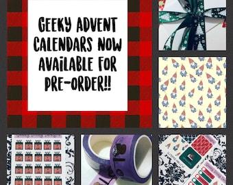 Geeky Advent Calendar