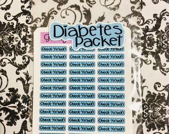 Diabetic's Little Helper Packet