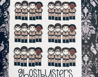Ghostbusters Planner Stickers