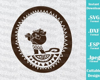 INSTANT DOWNLOAD SVG Disney Inspired Maui Moana Movie For Cutting Machines Svg Esp Dxf And Jpeg Format Cricut Silhouette