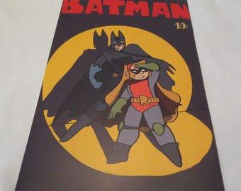 Batman and Robin Parody Poster