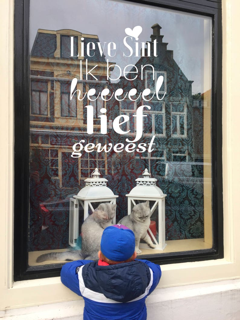 Dear Sint  I have been very sweet  Windowdrawing  image 0