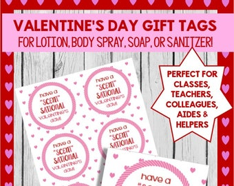 SCENT-Sational Valentine's Day Gift Tags!  **INSTANT DOWNLOAD!!***