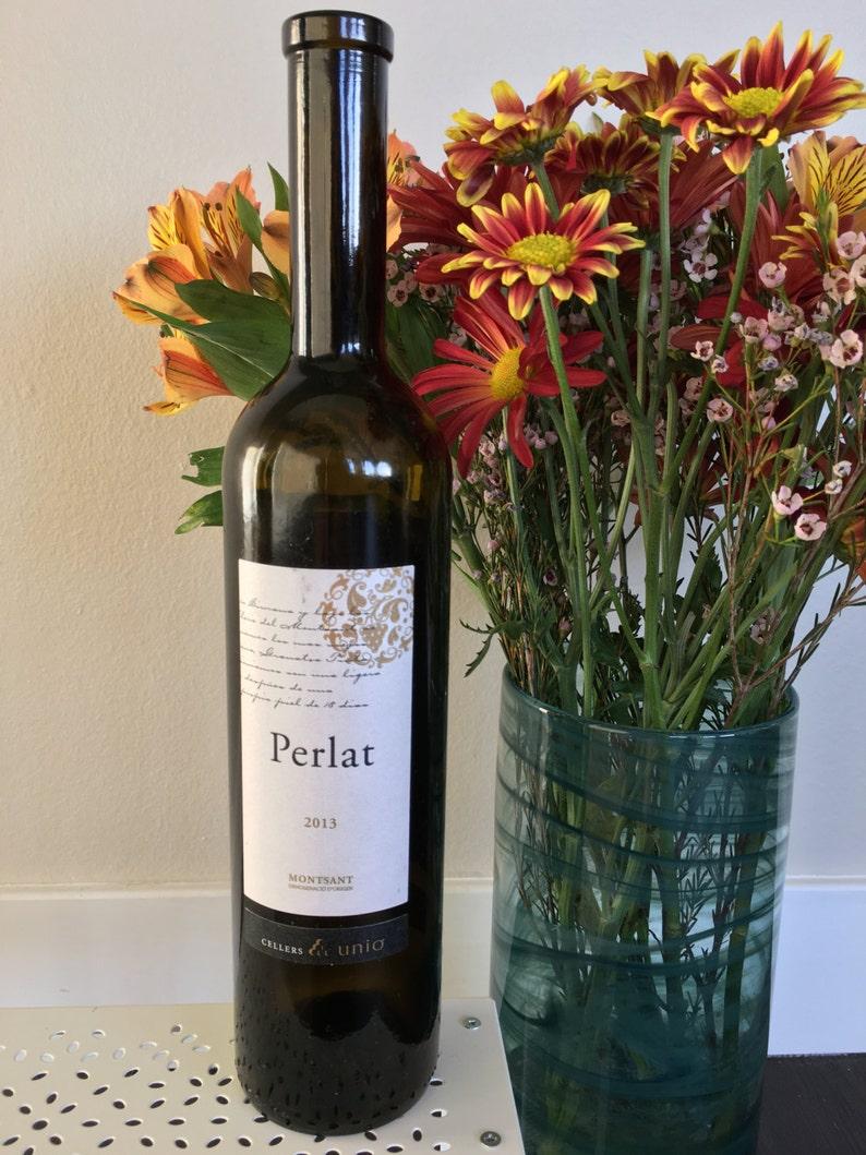CUSTOM  Montsant Perlat Wine Bottle Light image 1